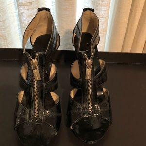 Michael Kors Black Patton Leather Sandal